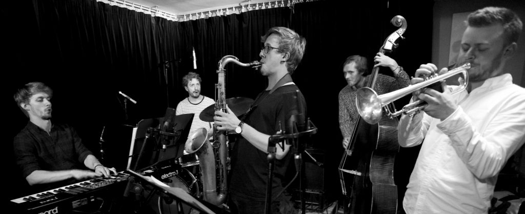 Coming to Jazz at Progress 22 September | Alex Hitchcock Quintet