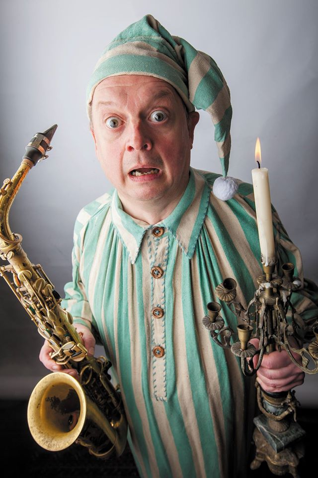 Classic Dickens and classic Alan Barnes present A Jazz Christmas Carol Friday 20 December at Progress Theatre