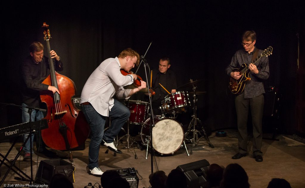 Recent Jazz at Progress | Ben Holder Quartet (Photo by Zoë White)