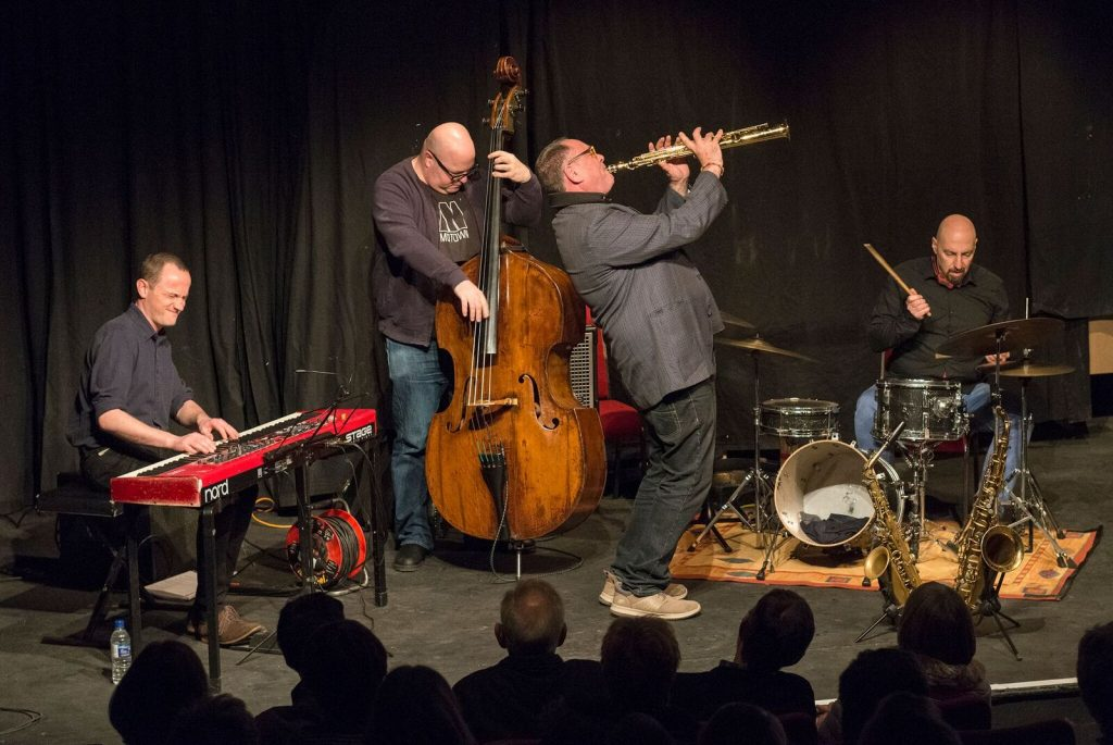"Recent Jazz at Progress | Gilad Atzmon & The Orient House Ensemble ""Spirit of Trane"" (Photo by Colin Swain)"