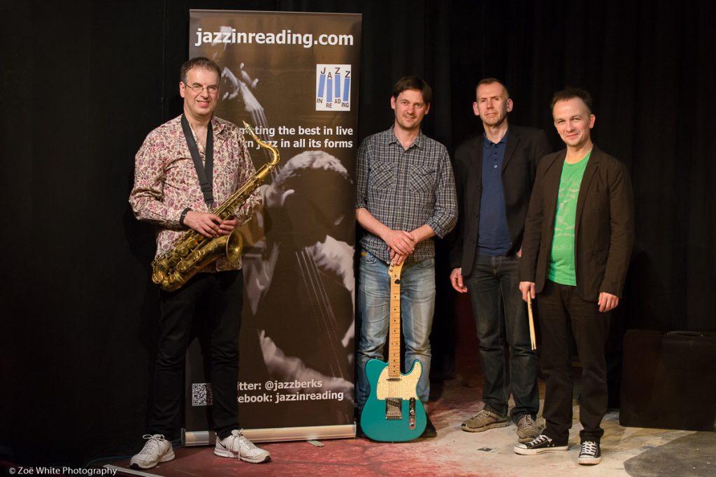 Previous Jazz at Progress    Theo Travis' Double Talk (Photo by Zoë White)