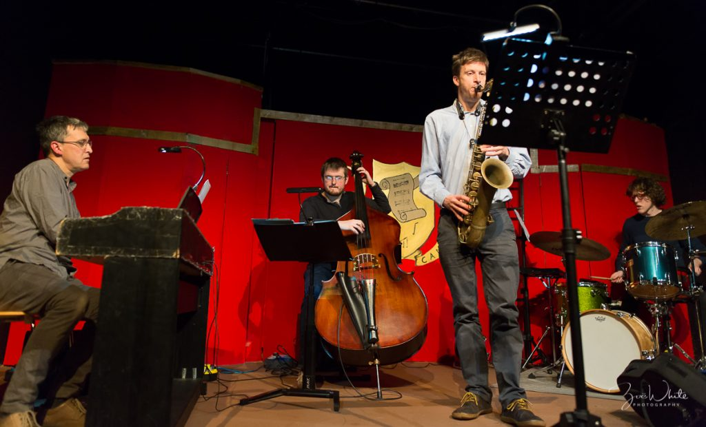 Recent Jazz at Progress  | John Law's Re-Creations  (Photo by Zoë White)