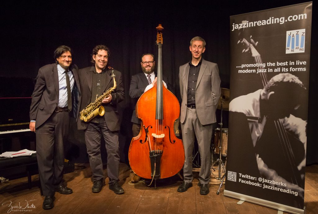 Recent Jazz at Progress | Leon Greening Quartet (Photo by Zoë White)