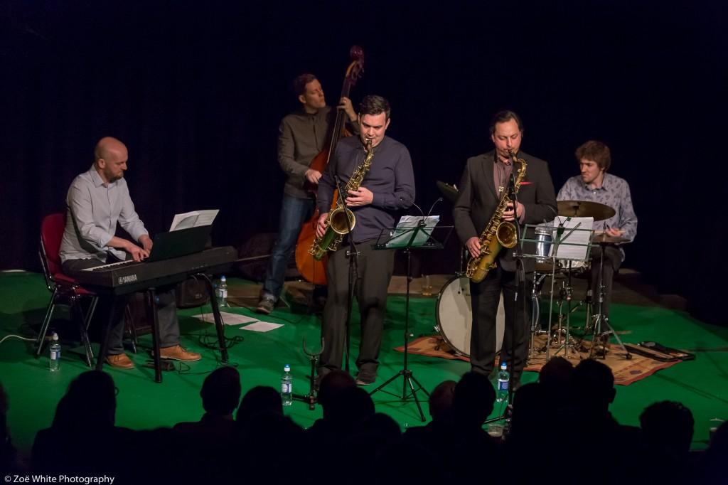 Previous Jazz at Progress | Alex Garnett's 'Bunch of Fives' (Photo by Zoë White)
