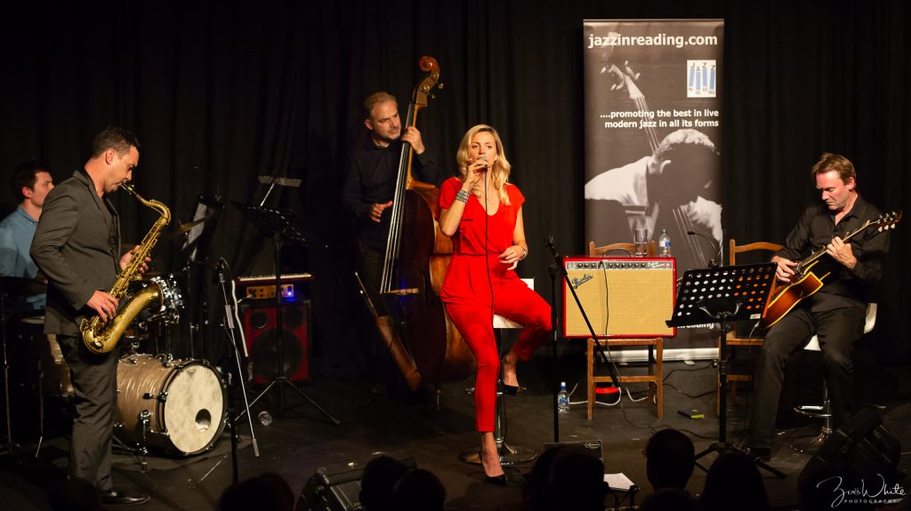 Recent Jazz at Progress | Rebecca Poole Quintet (Photo by Zoë White)