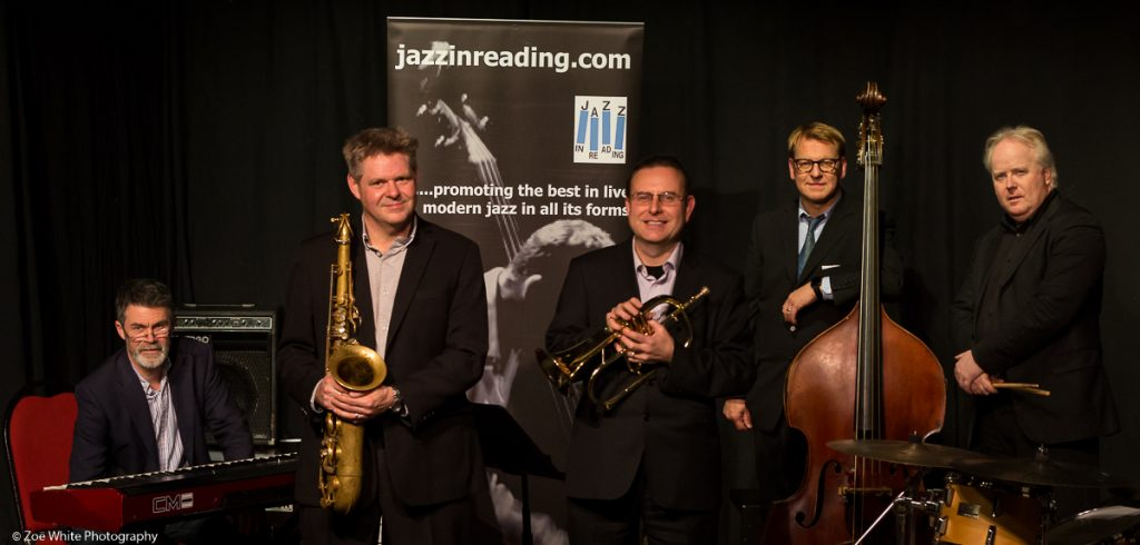 Recent Jazz at Progress | Derek Nash Acoustic Quartet with special guest Martin Shaw (Photo by Zoë White)