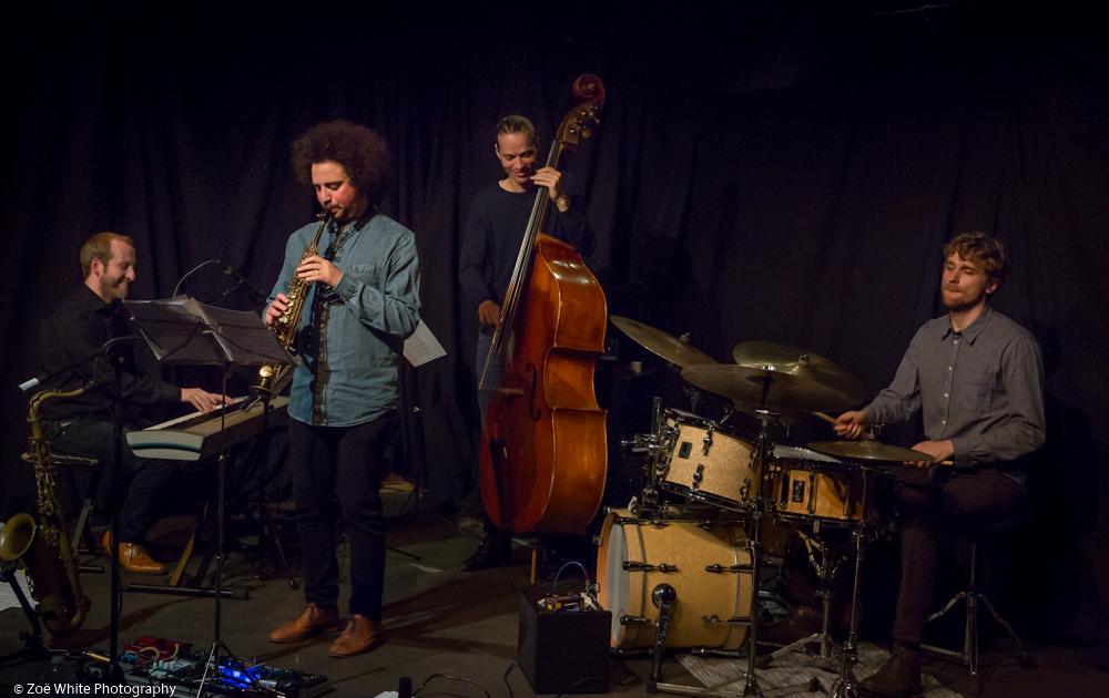 Previous Jazz at Progress | Kairos 4tet (Photo by Zoë White)