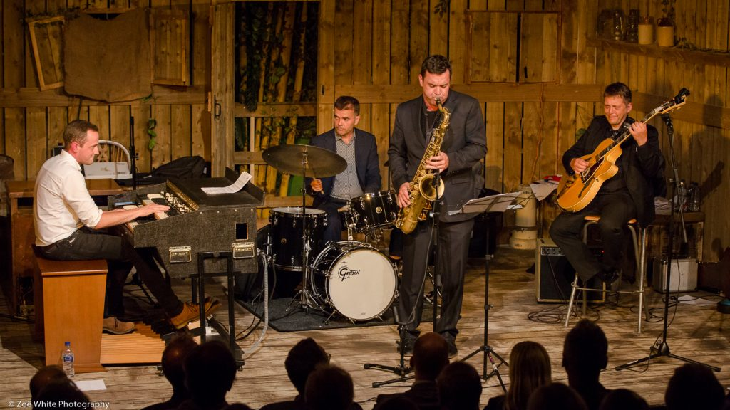 Recent Jazz at Progress | Nigel Price Organ Quartet (Photo by Zoë White)