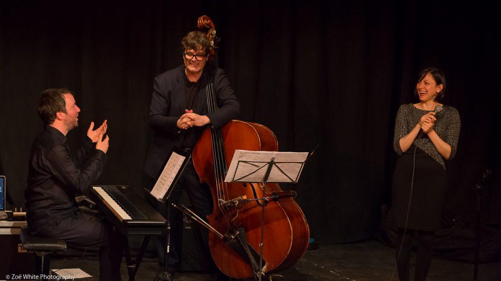 Recent Jazz at Progress | Georgia Mancio and Quadro (Photo by Zoë White)