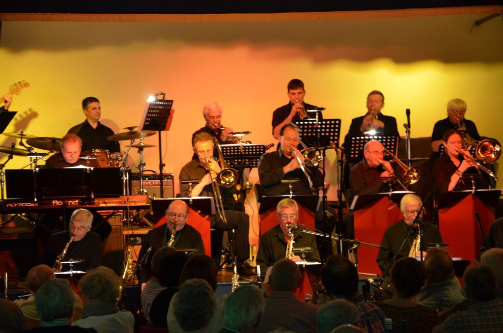 23 July Jazz in Reading at the Reading Fringe Festival: Stuart Henderson and The Remix Jazz Orchestra playing 'The Evolution of the Big Band - from the Birth of Jazz' Details/tickets: click photo