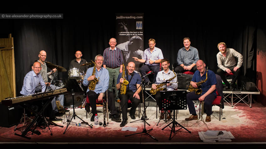 Recent Jazz at Progress | Scott Willcox Big Band (Photo by Lee Alexander Photography)