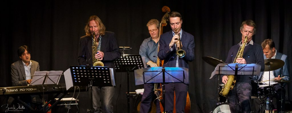 Recent Jazz at Progress | Matt Wates Sextet (Photo by Zoë White)