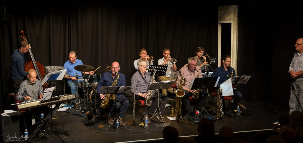 Recent jazz at Progress Friday 20 September | The Scott Willcox Ten-Piece Big Band (Photo by Zoë White)