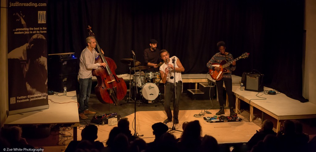 Previous Jazz at Progress | Arun Ghosh (Photo by Zoë White)