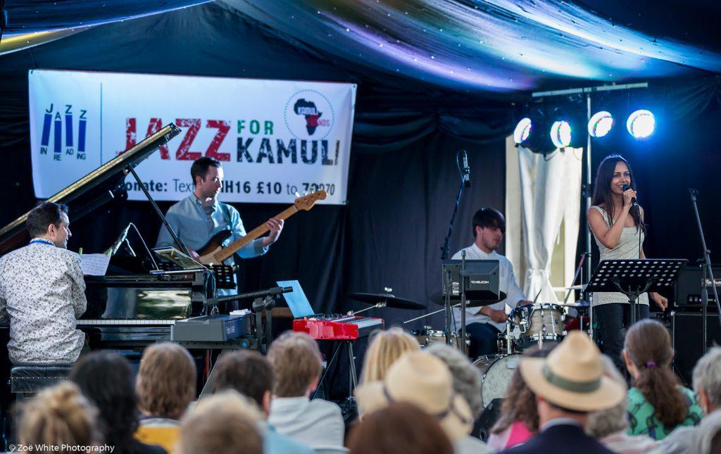 Jason Rebello Quartet at Jazz for Kamuli, summer 2016 (Photo by Zoë White)