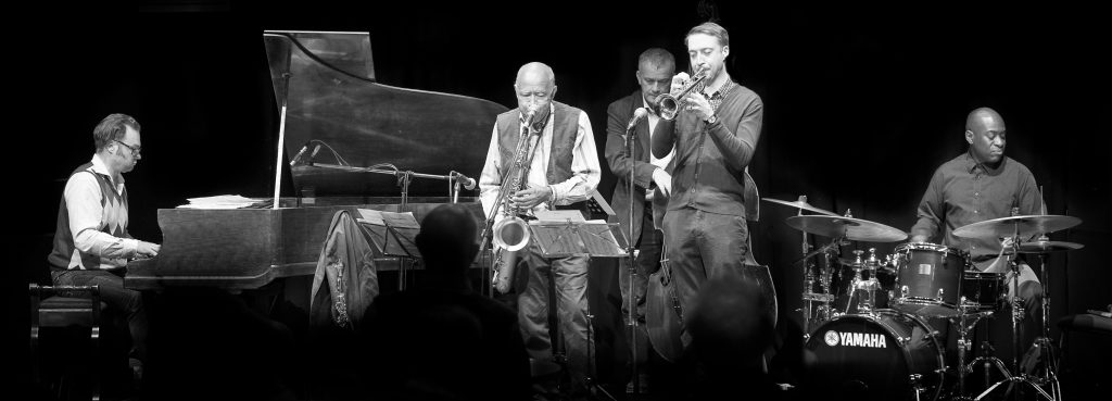 Coming to Jazz at Progress 2 June | Art Themen's New Directions Quintet (Photo by Bob Hewson)