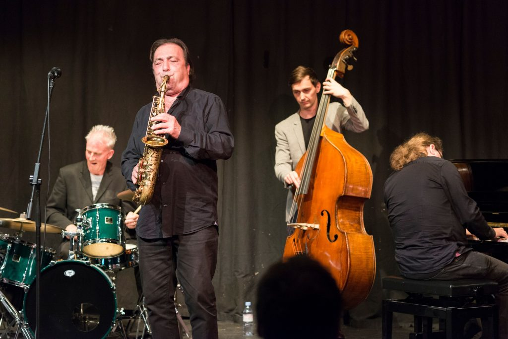 Recent Jazz at Progress | Greg Abate & the Craig Milverton Trio (Photo by Colin Swain)
