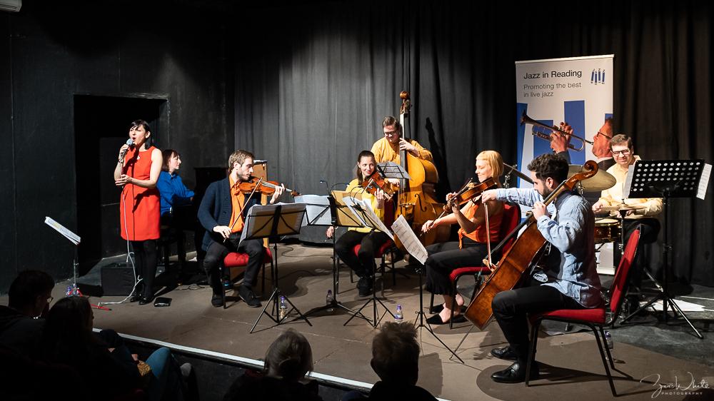 Progress Theatre 6 March  |  Finding Home: Kate Williams' Four Plus Three meets Georgia Mancio – photo by Zoë White