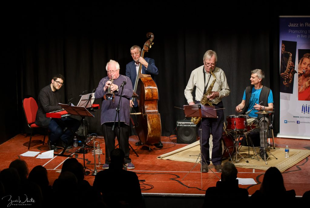 Recent Jazz at Progress | Henry Lowther's Still Waters (Photo by Zoë White)